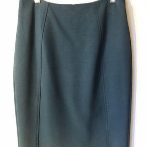 Turquoise Halogen Skirt